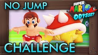 Spinning Athletics Without Jumping | Super Mario Odyssey Challenge [Extremely Hard]