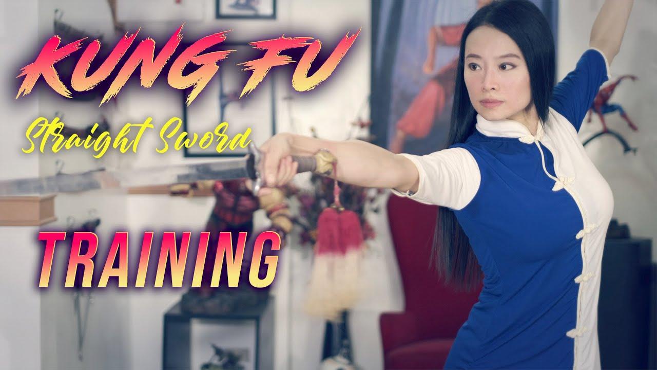 KUNG FU STRAIGHT SWORD TRAINING