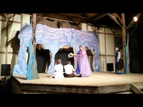Young Shakespeare's The Tempest - Ceres and Juno Bless The Couple