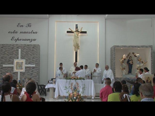 SANTA EUCARISTÍA FIESTA PATRONAL PARROQUIA SANTA MARÍA DE LOS ANGELES