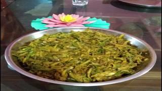 how to cook kochu,data, potato with batasi fish chorchori | easy chorchori recipe