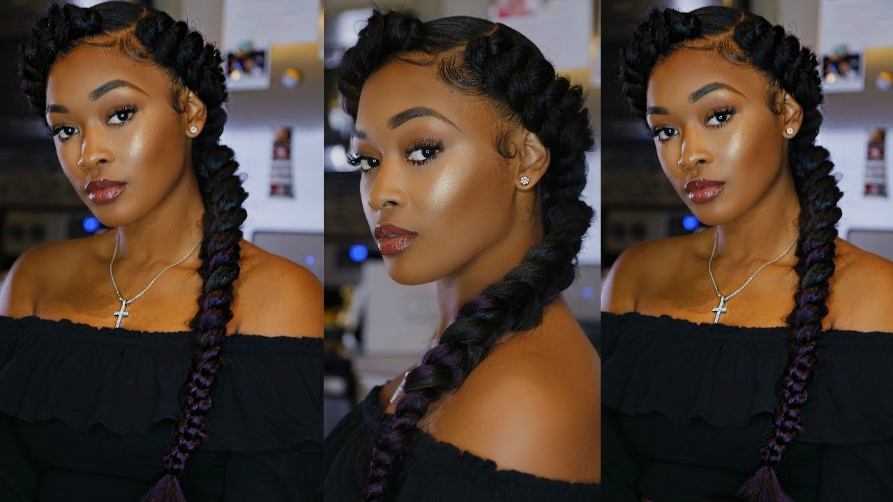 Quick Amp Amp Easy Protective Butterfly Braid Tutorial Ft