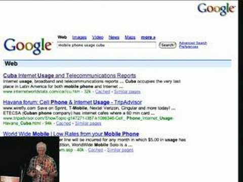 The Future of Search, Peter Norvig (Google)