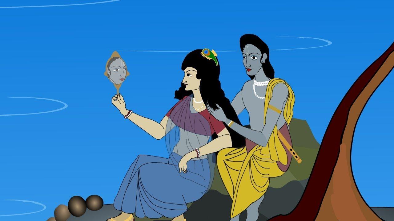 Animated Radha Krishna Love Story Animation Love Status Videos For Whatsapp Status Youtube