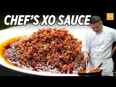 🔥Master Chef's Unique XO Sauce Recipes | Hong Kong | Chinese Food | 自製 XO 醬