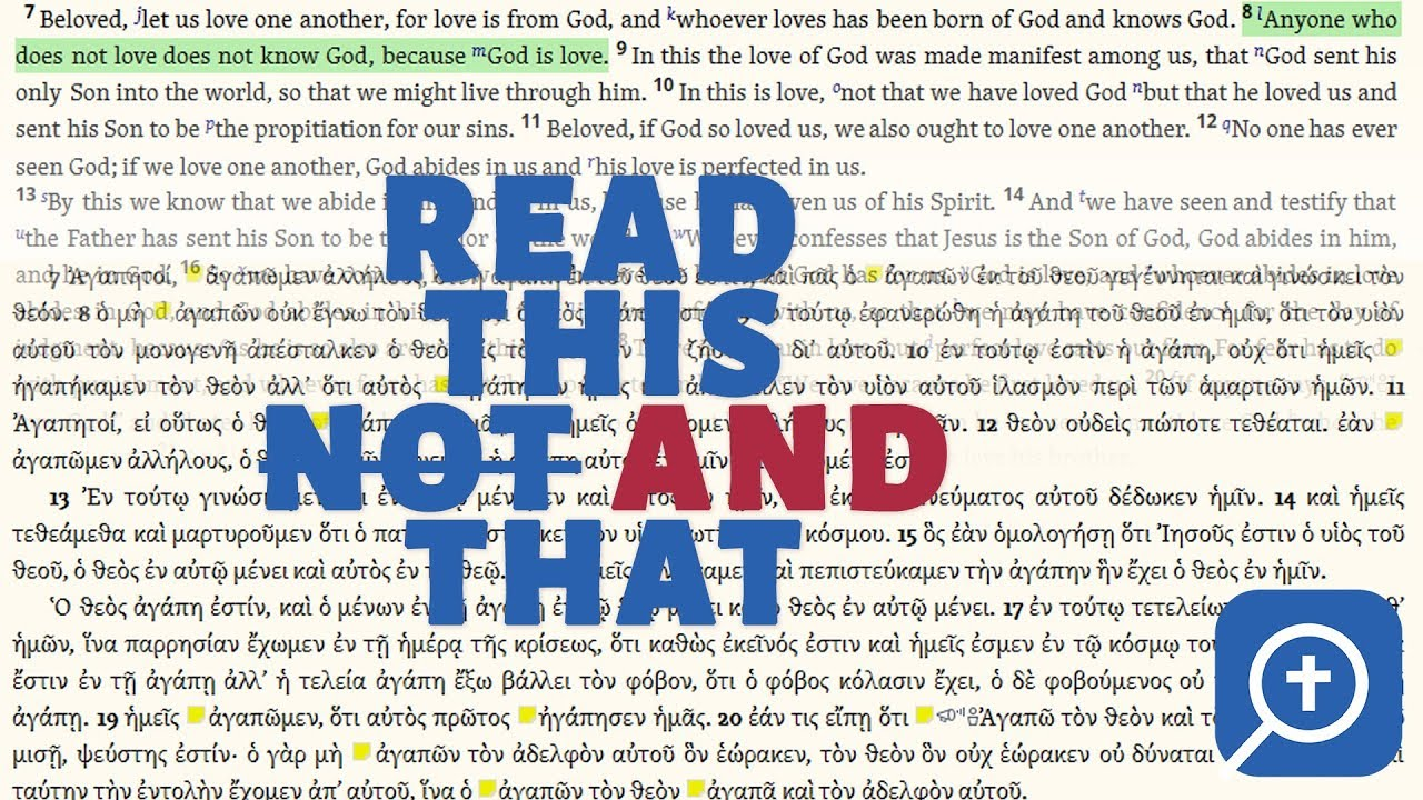Using the Logos 7 Interlinear Bible Tools Part One
