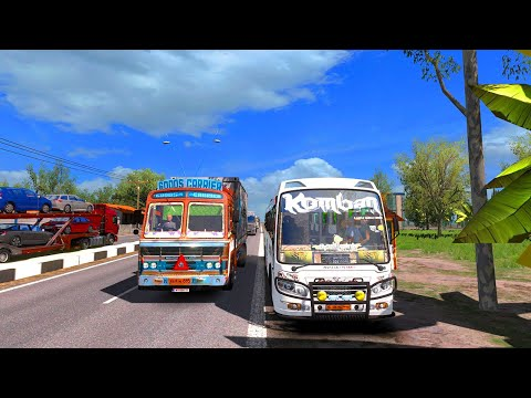 Komban Bus Driving   Ashok Leyland   Komban Bus Game