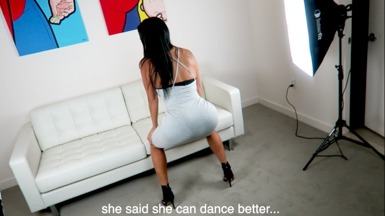 Twerking in high heels