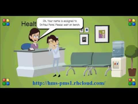 hospital management system receptionist panel