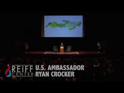 Reiff Center Speaker Ryan Crocker