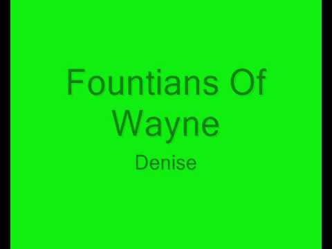 Denise Lyrics - Fountains Of Wayne