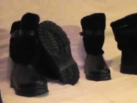 монгольская зимные сапоги - YouTube