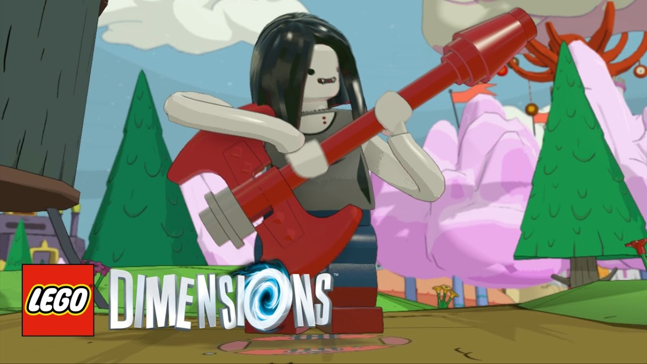 LEGO Dimensions   Marceline The Vampire Queen Free Roam   YouTube