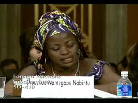 Congolese Woman testifies before US senators about sexual violence in Congo