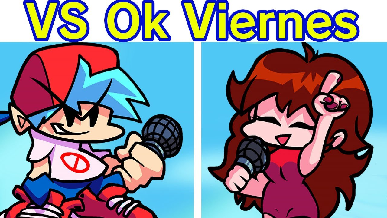 Friday Night Funkin' VS Ok Friday Canciones BF, GF & Pico