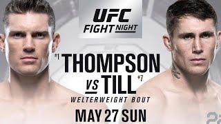 UFC Liverpool: Livestream chat 1080p Thompson vs Till