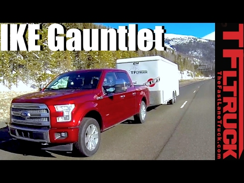 2017 Ford F-150 10-Speed Ike Gauntlet Review: World's Toughest Towing Test