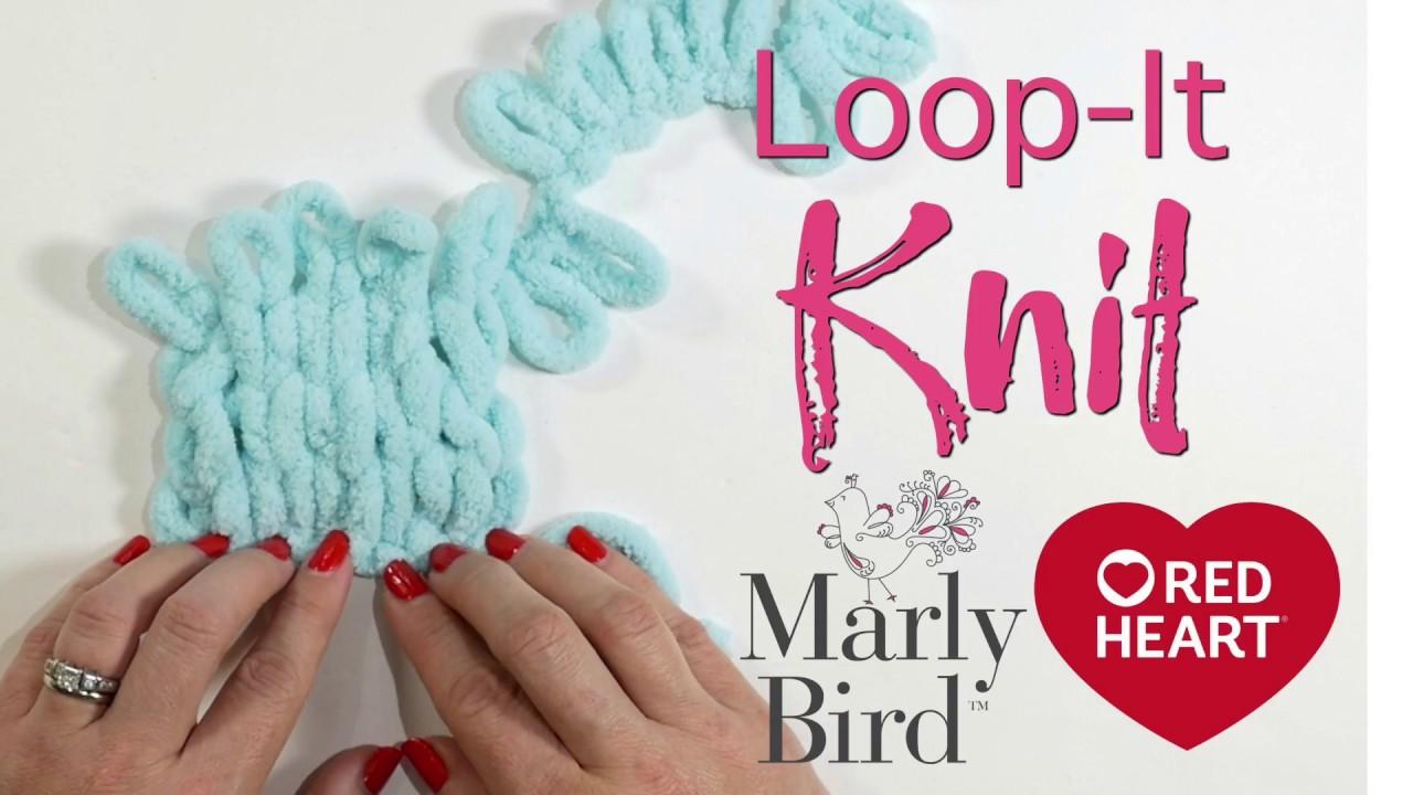 Red Heart Yarn Loop-It-So Jaded