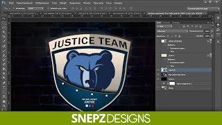 Tutorial Создание логотипа для команды в Photoshop(, 2014-04-09T15:33:04.000Z)