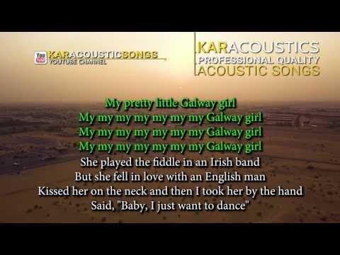 Galway Girl (acoustic karaoke) - Ed Sheeran