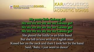 Galway Girl by Ed Sheeran Acoustic Guitar Backing Track | Acoustic Karaoke
