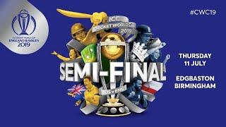 ICC #CWC19  | Australia vs England - Semi Final | Cricket LIVE