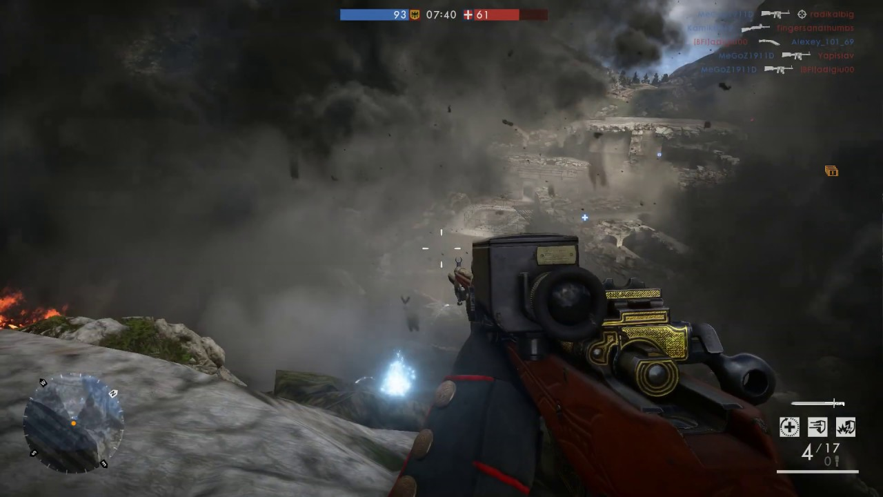Battlefield 1 auto Mortar cheater