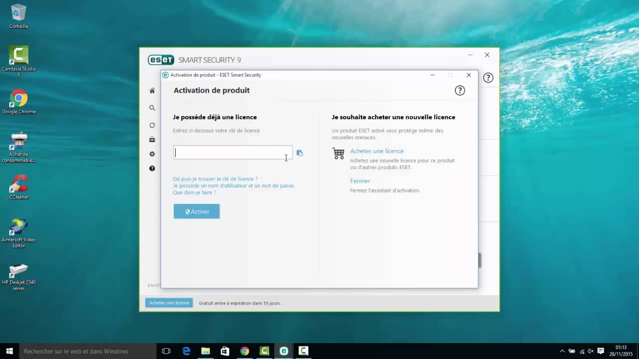 eset license key free download 2016