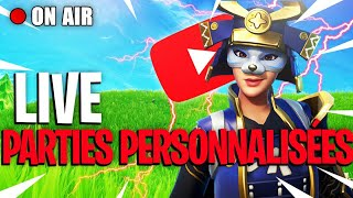 LIVE FORTNITE - PARTIES PERSONNALISEES | TOURNOI DryCup1 [FR/PS4] GAME POULE