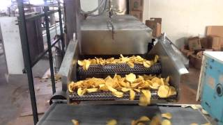 USED TORTILLA CHIP OVEN AND FRYER FOR SALE