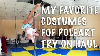 TRY ON HAUL MY POLE ART DANCE COSTUMES