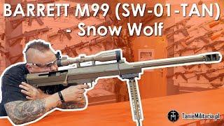 BARRETT M99 (SW-01-TAN) SNOW WOLF - TANIEMILITARIA.PL
