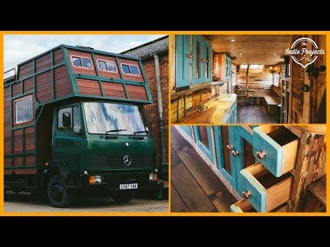 Off-Grid Horsebox Tiny House Tour!