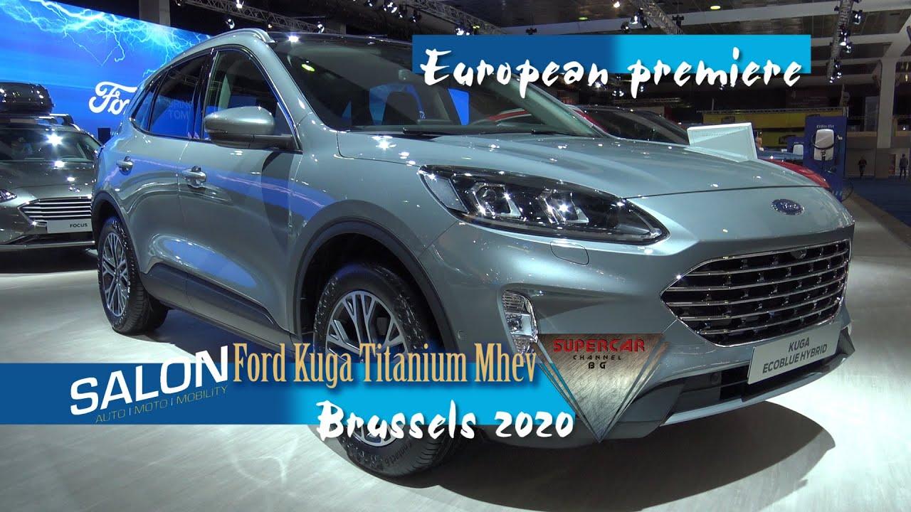 2020 Ford Kuga Titanium Mhev Ecoblue Interior Exterior Walkaround
