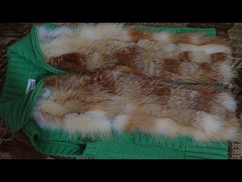 Подробный мастер-класс - Как сшить меховую жилетку из ненужных кусков меха?