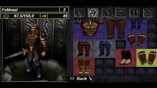 Untold Legends Brotherhood of the Blade Gameplay (PSP)
