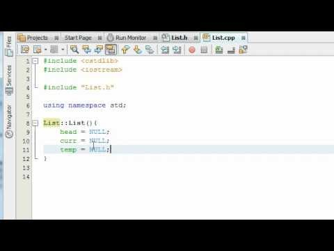 Creating a Linked List Project in C++ Part 3 - YouTube