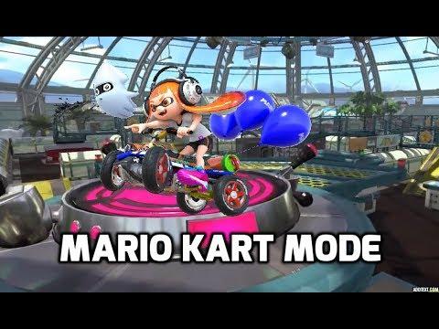 Splatoon 2 - Mario Kart mode