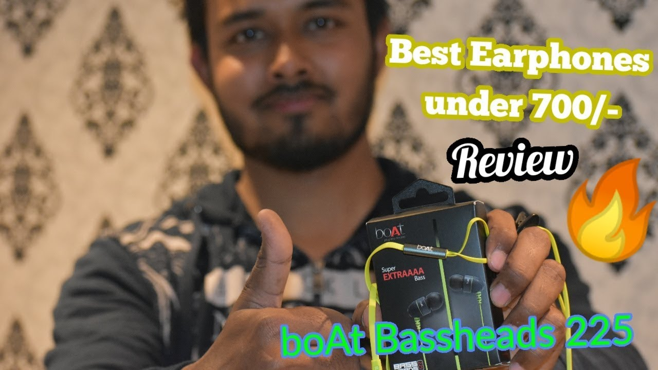 648e61416bd BoAt Bassheads 225 Review and Unboxing | Extra Bass???? - YouTube