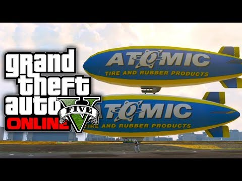 GTA 5 Online: How To Get The Atomic Blimp...