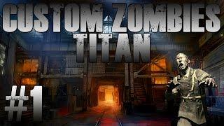 "Custom Zombies   ""Titan Corp"" Gun Game #1"