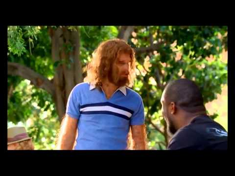 Geico Caveman Commercial with Brian Orakpo - Playing Scrabble