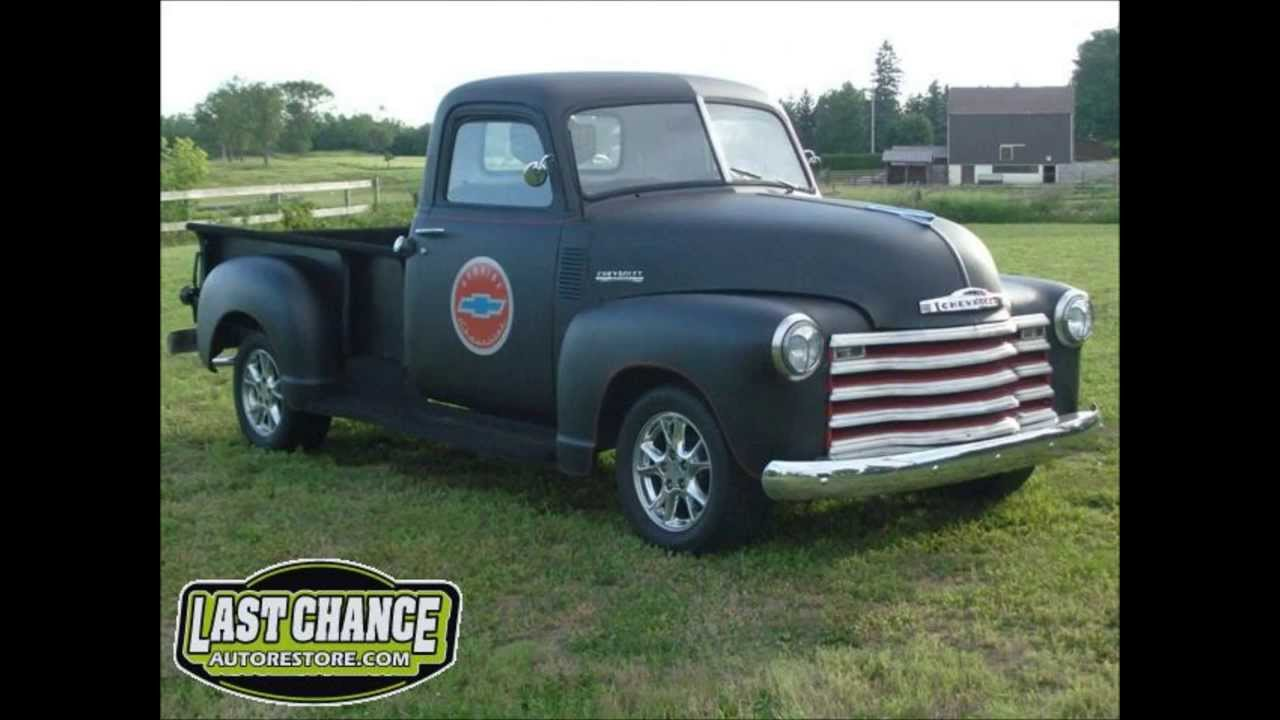 Custom Classic Chevy Truck Restoration 1949, By Last Chance Auto ...