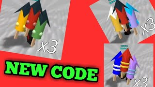 *NEW*Code for FREE FIREWORKS | Build a boat for treasure Roblox
