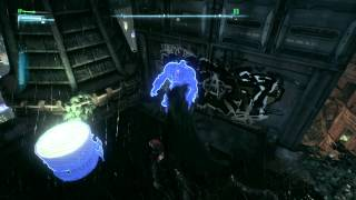 Batman: Arkham Knight - Protecting Ivy's Plants: Protect Ivy's Plant (Matures) Roof Militia Fight