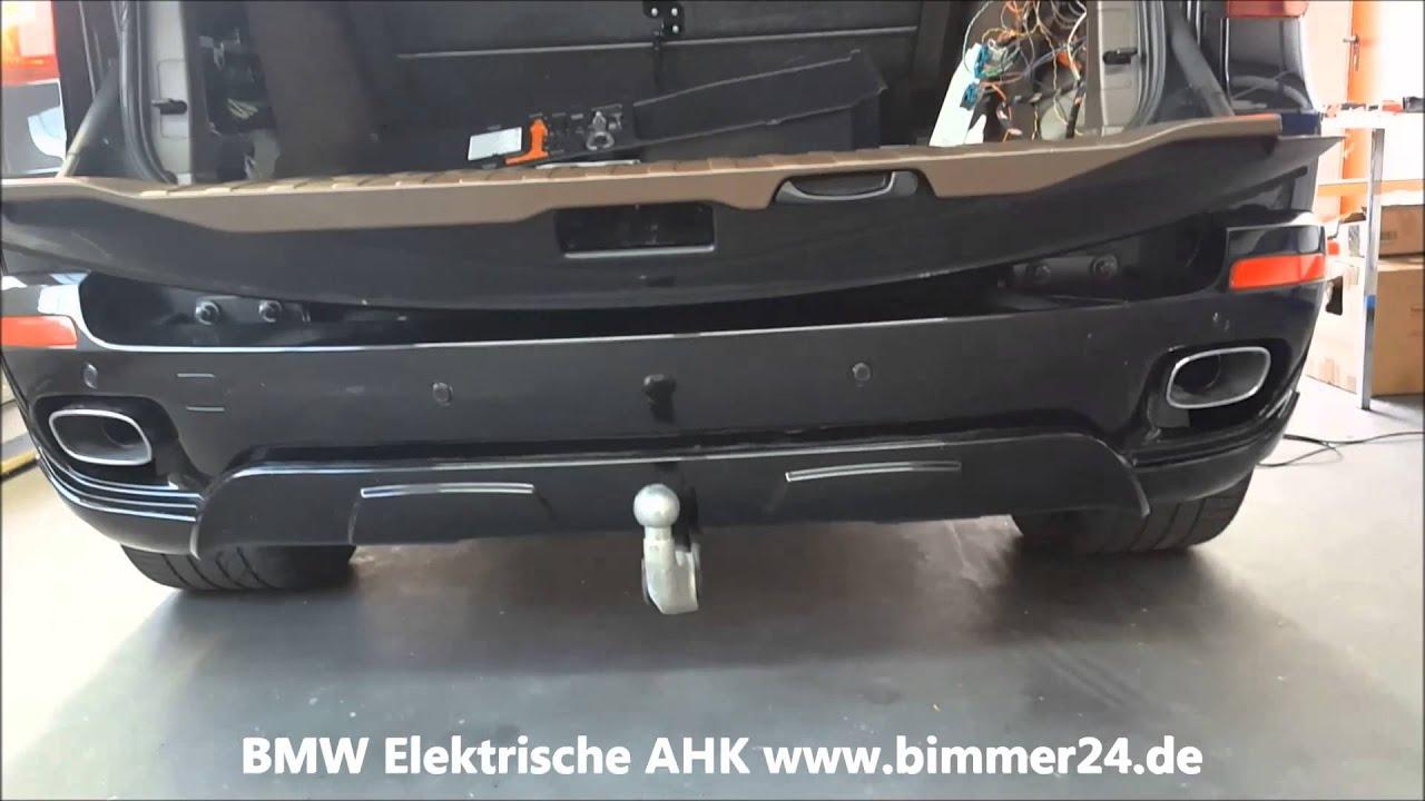 bmw x5 e70 anh ngerkupplung elektrisch youtube. Black Bedroom Furniture Sets. Home Design Ideas