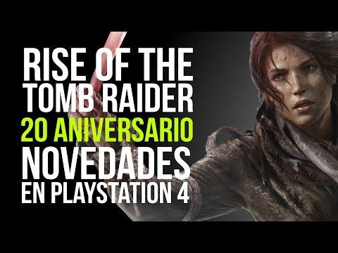 RISE OF THE TOMB RAIDER 20 ANIVERSARIO - ¿Qué novedades aporta la versión de PLAYSTATION 4?