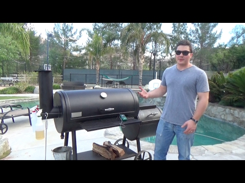 smoker review old country bbq pits brazos offset smoker youtube
