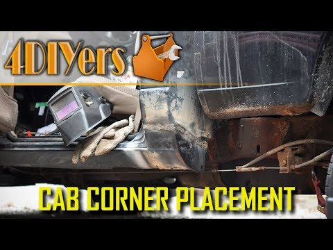 How To Replace A Cab Corner On A Truck - Full Version