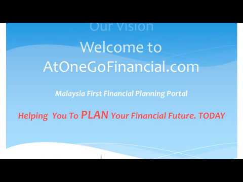 Welcome To AtOneGoFinancial.com - Malaysia First Financial Plannning Portal